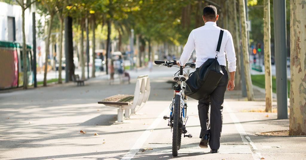 biking, work, give up