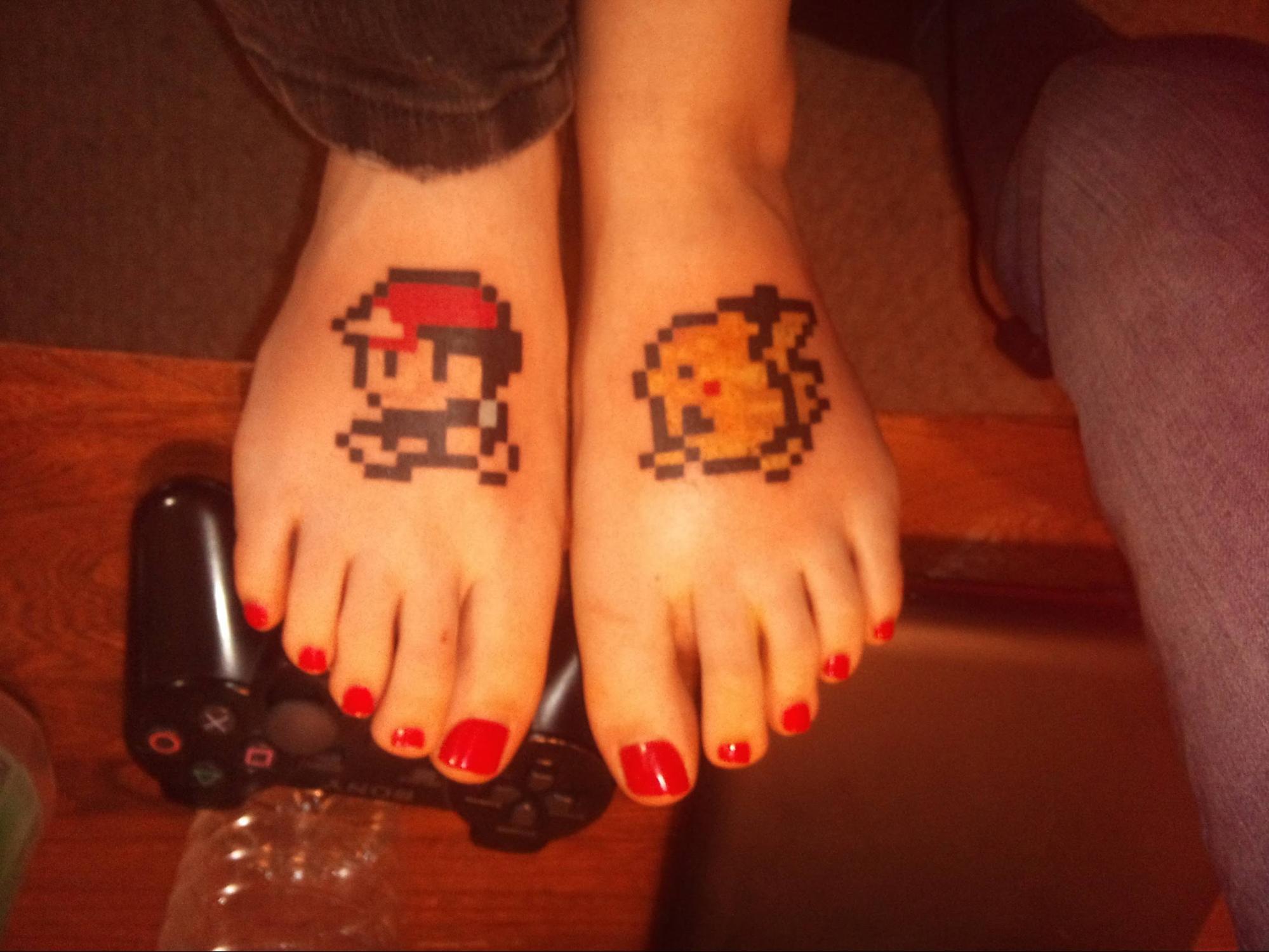 Gamer Girl Toes [DO NOT PUBLISH]