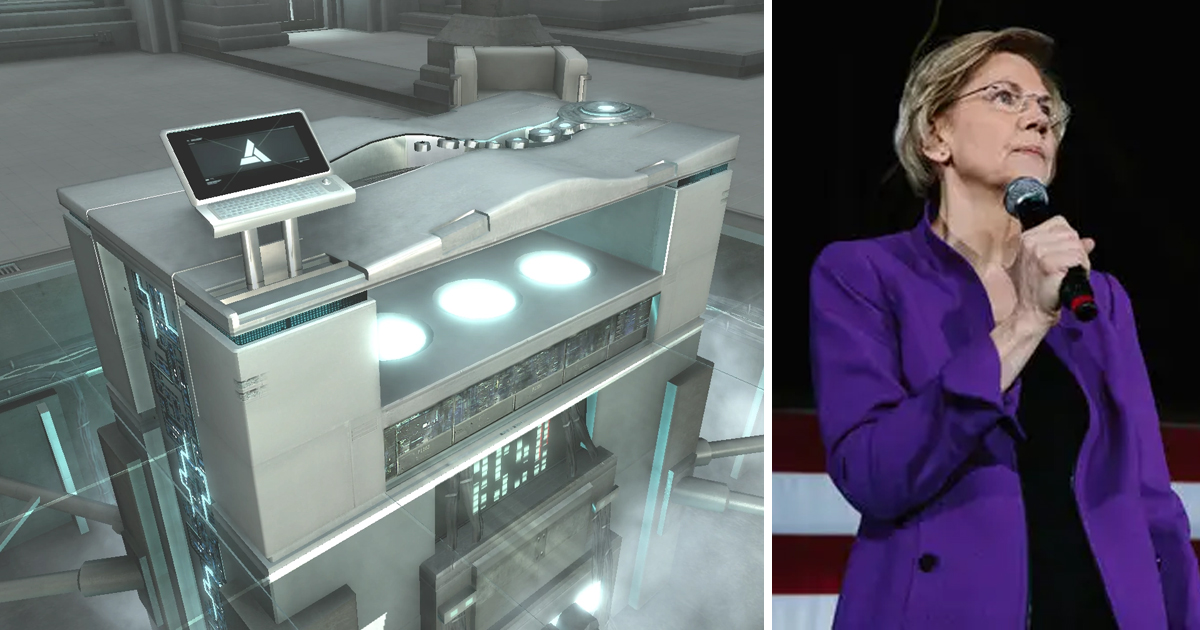 Elizabeth Warren Signs Up for Abstergo Project to Experience Life of Her Native American Ancestor