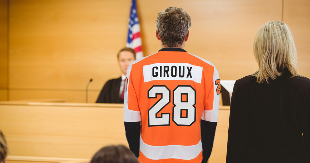 Finest Flyers Jersey Worn To Arraignment