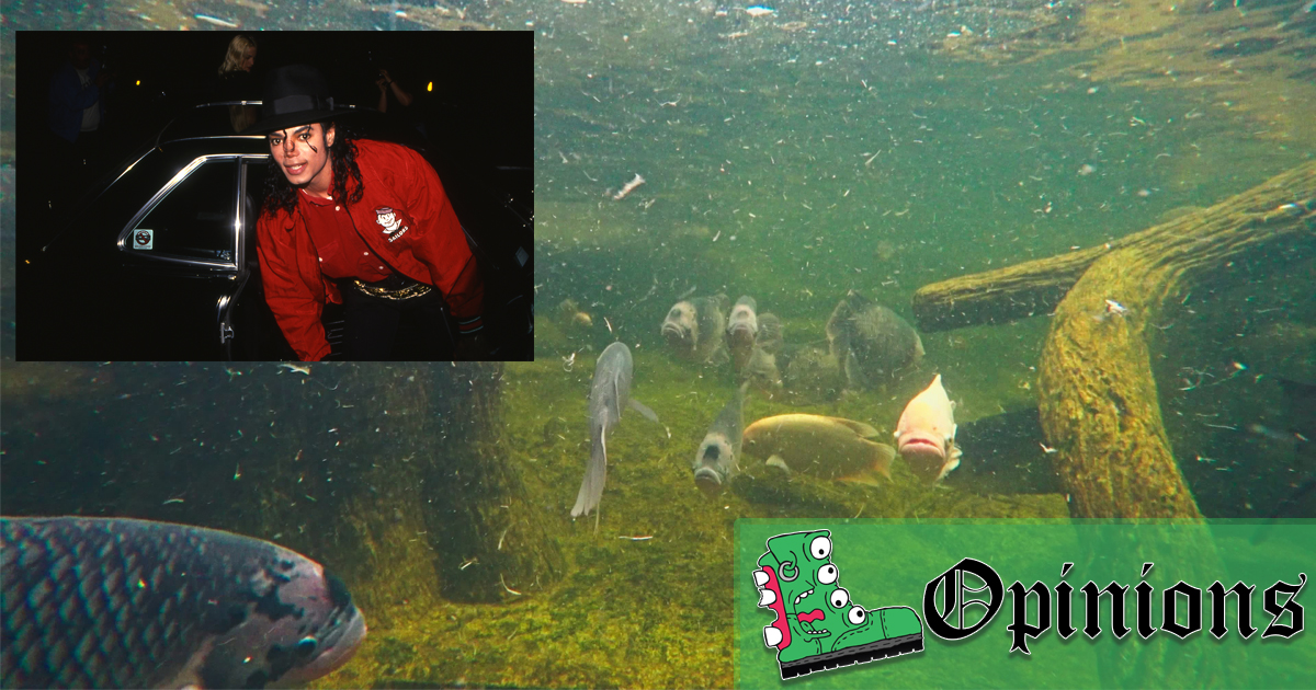I Was Michael Jackson's Aquarium Cleaner for 15 Years, and