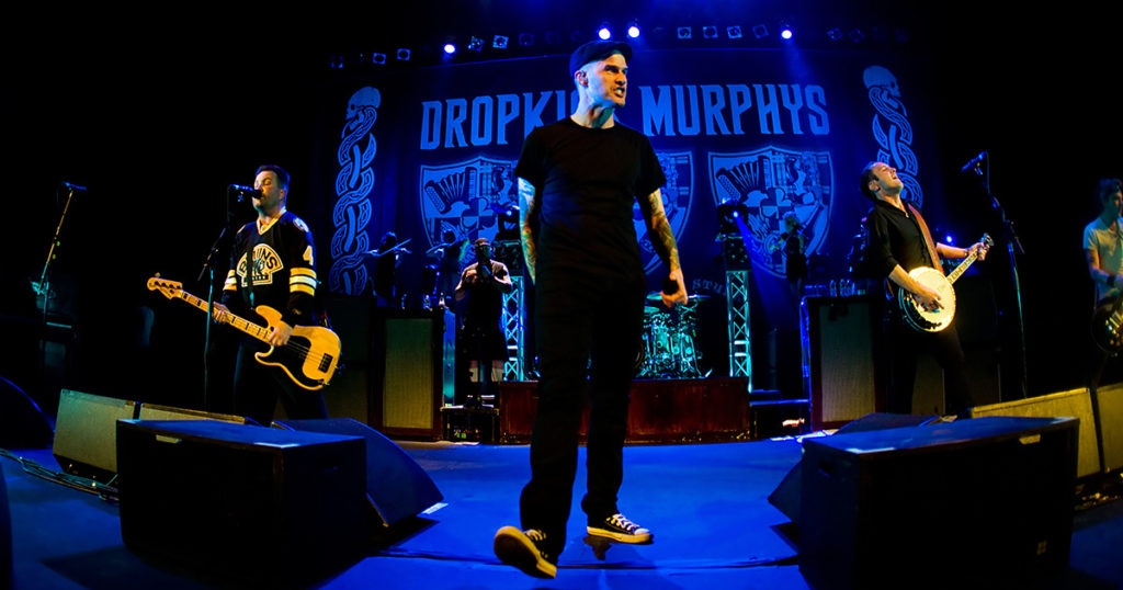 dropkick murphys, spotify, march