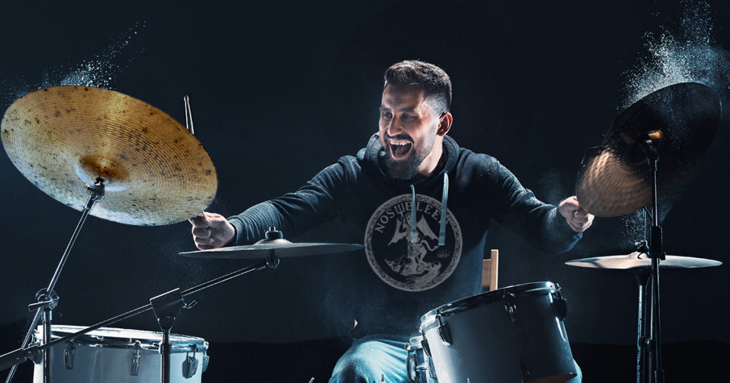 upside down, cymbal, scary