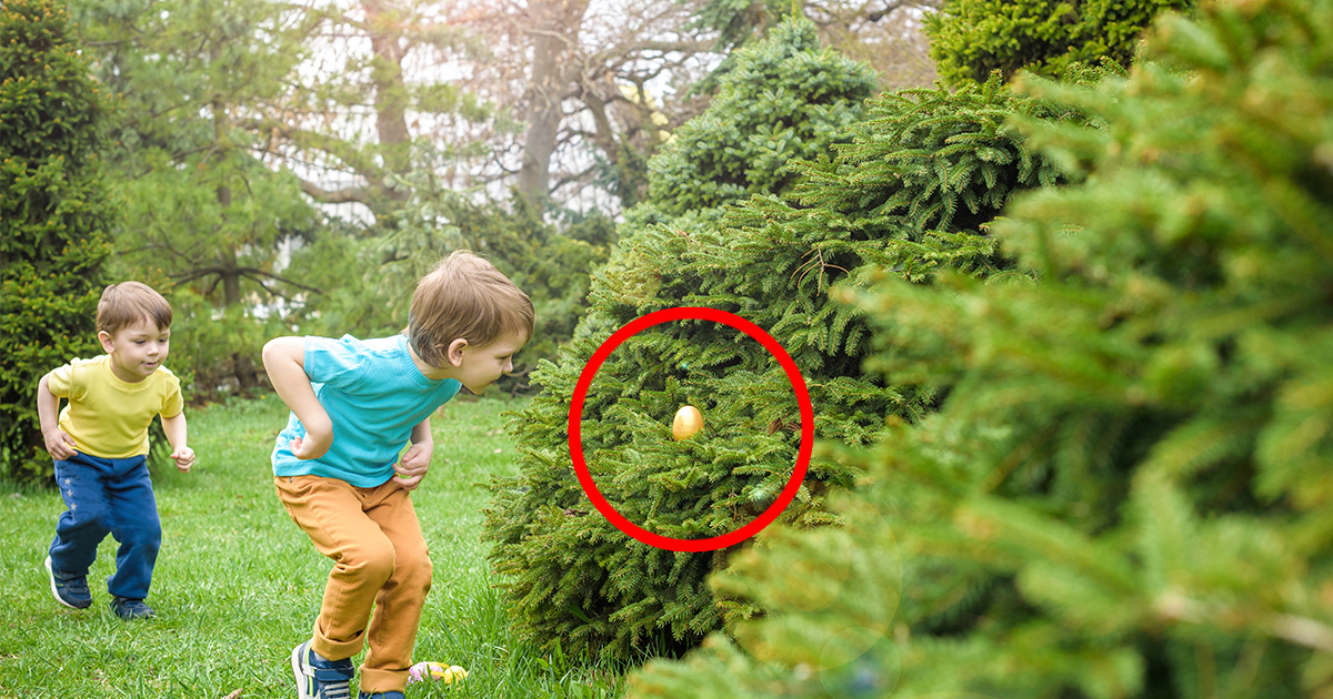 11 Easter Eggs You Might Have Missed at the Easter Egg Hunt