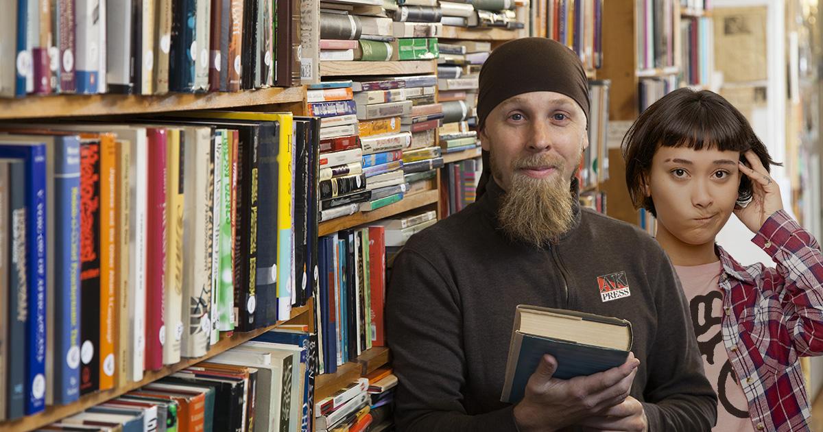 anarchist, books, bookstore