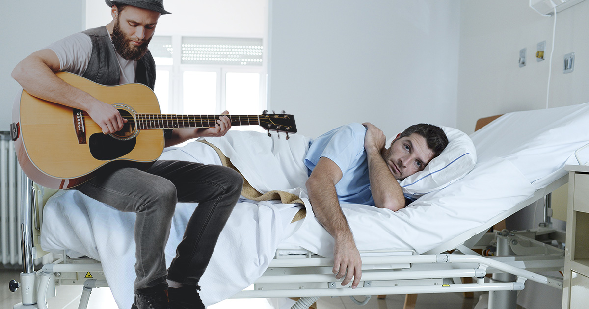 guitarist, coma, out of tune