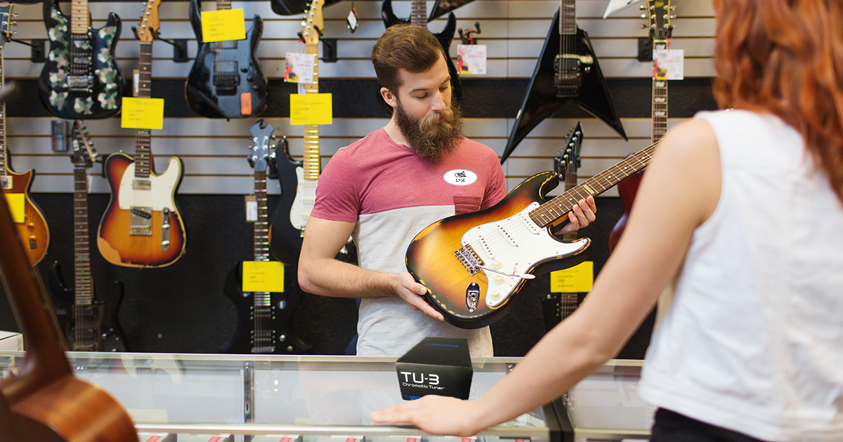 guitar center, purchase, sick
