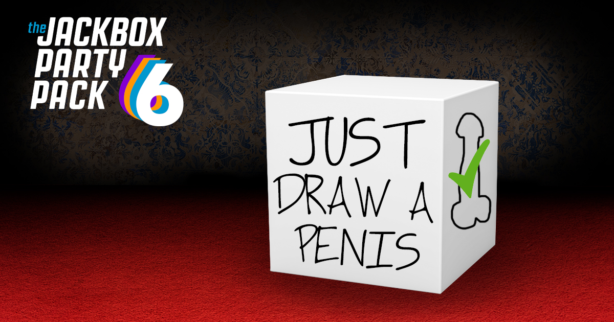 Jackbox Party Pack 6 to Include New Game 'Just Draw a Penis'