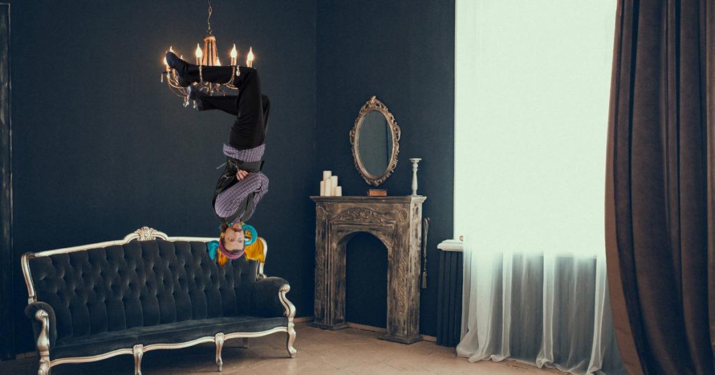 gogol bordello, chandelier, swinging