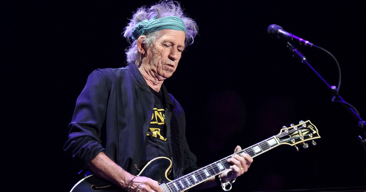 Keith Richards Unaware He's on Farewell Tour