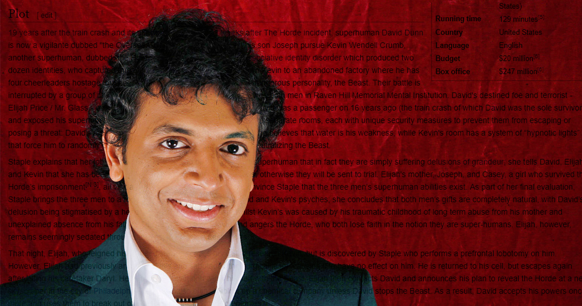 m. night shyamalan - photo #5