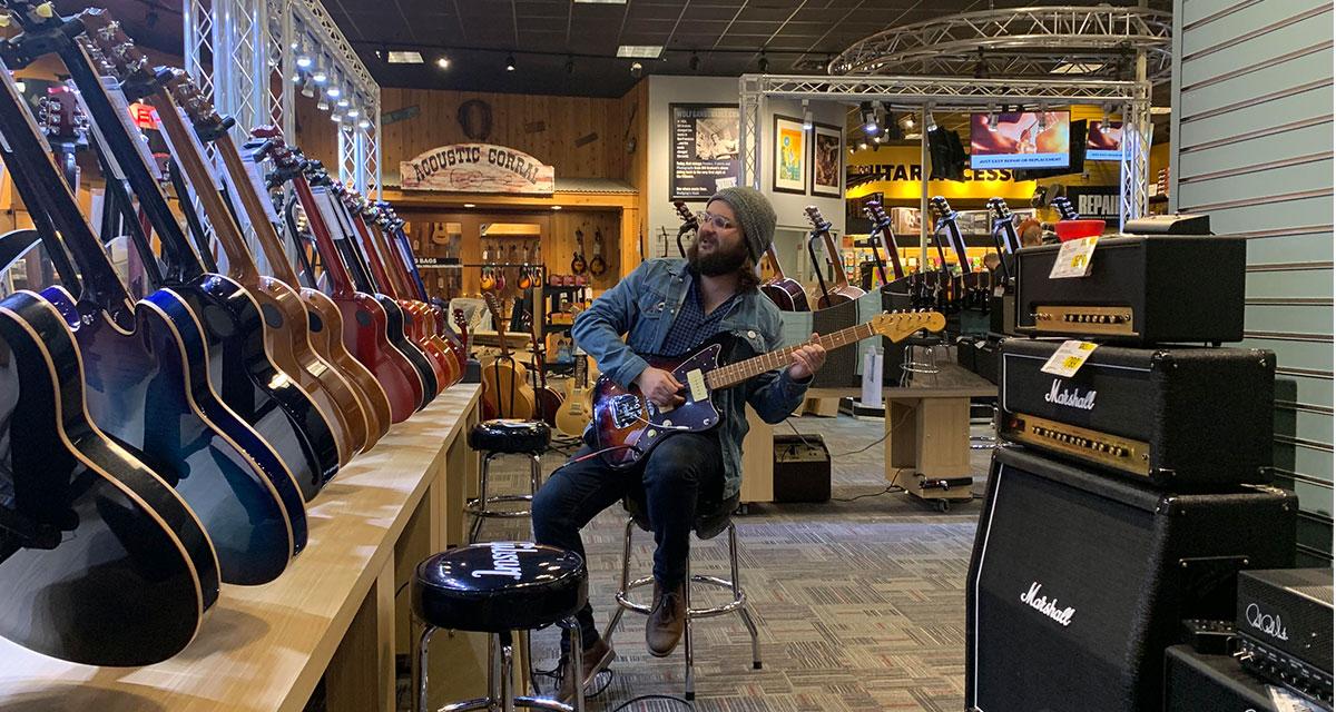 pavement, guitar center,