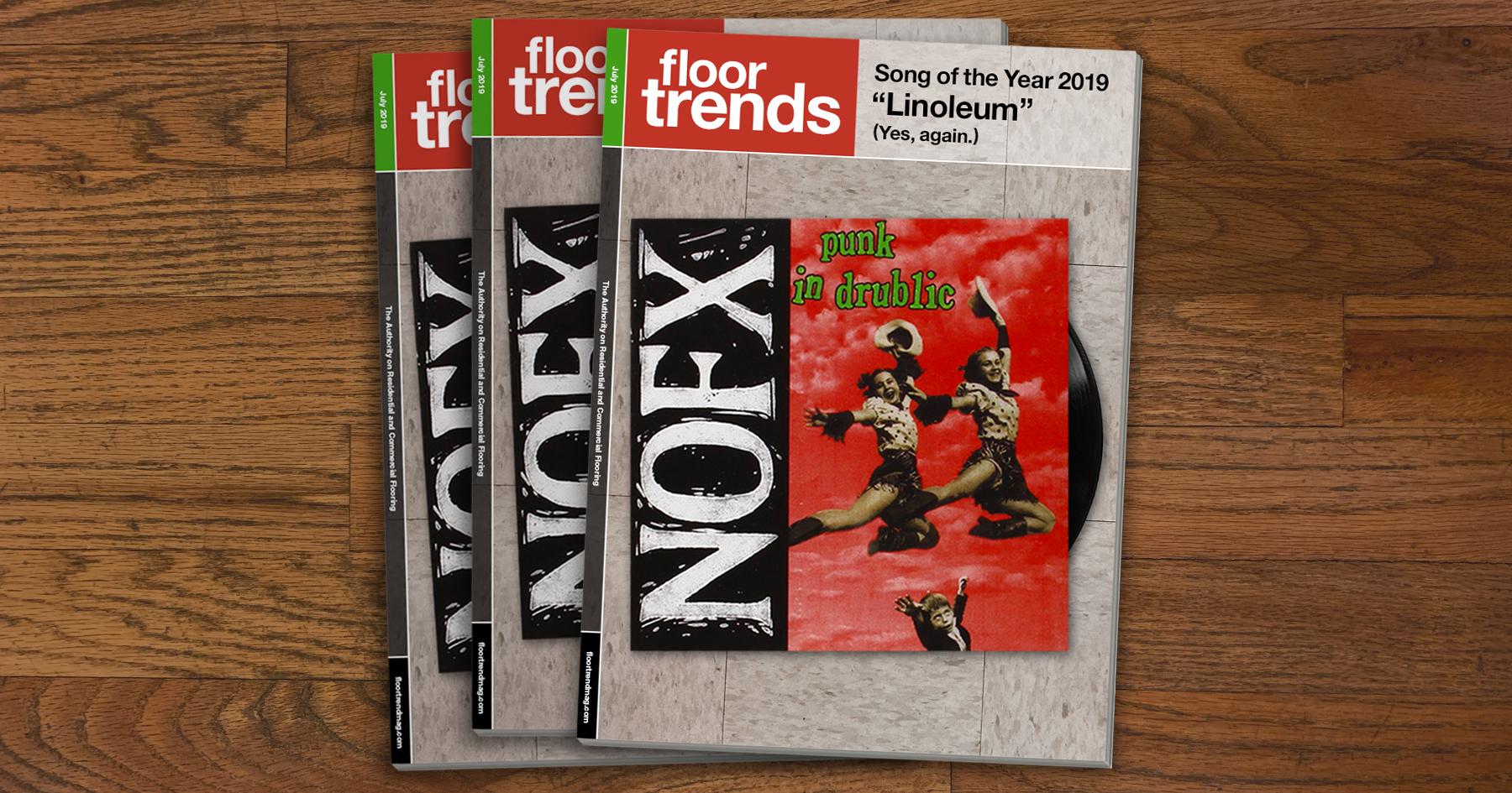 nofx, linoleum. floor trends