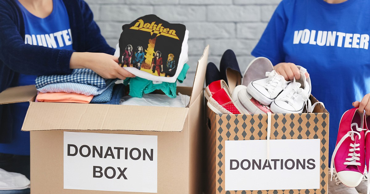 Dokken Shirt to Headline Goodwill Donation Box