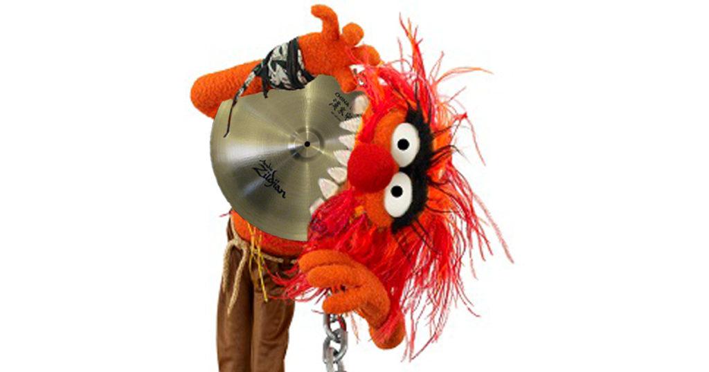 animal, zildjian, cymbal