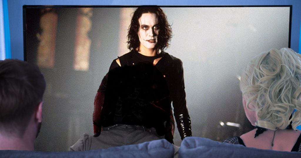 goth, the crow, movie