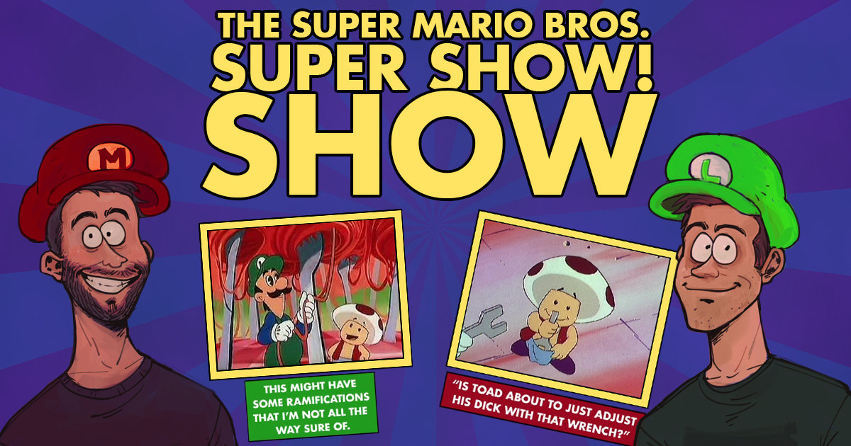 13 Clips From Podcast The Super Mario Bros Super Show Show