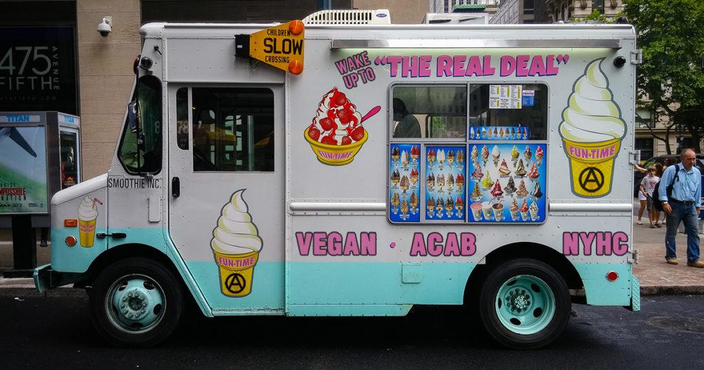 ice cream, truck, song