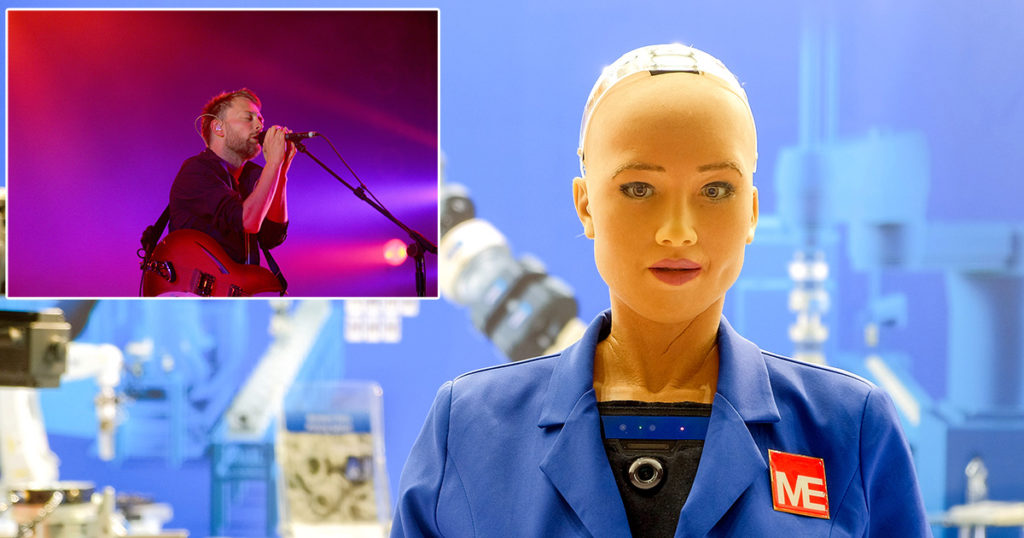 radiohead, paranoid android, thom yorke