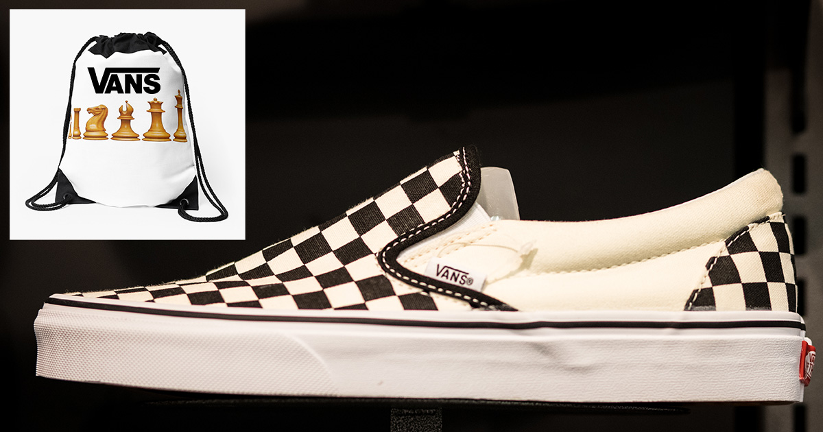 Vans Introduces Tiniest Chess Set for
