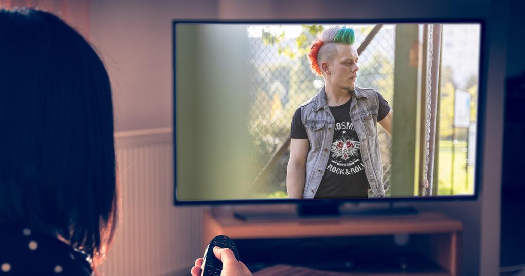 wardrobe, aerosmith, punk, tv