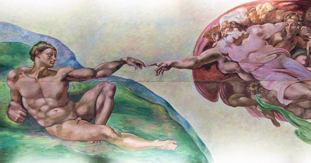 adam, god, creation