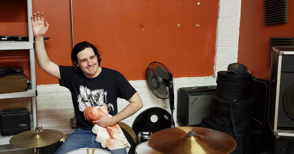 drummer, stabbed, canada, healthcare