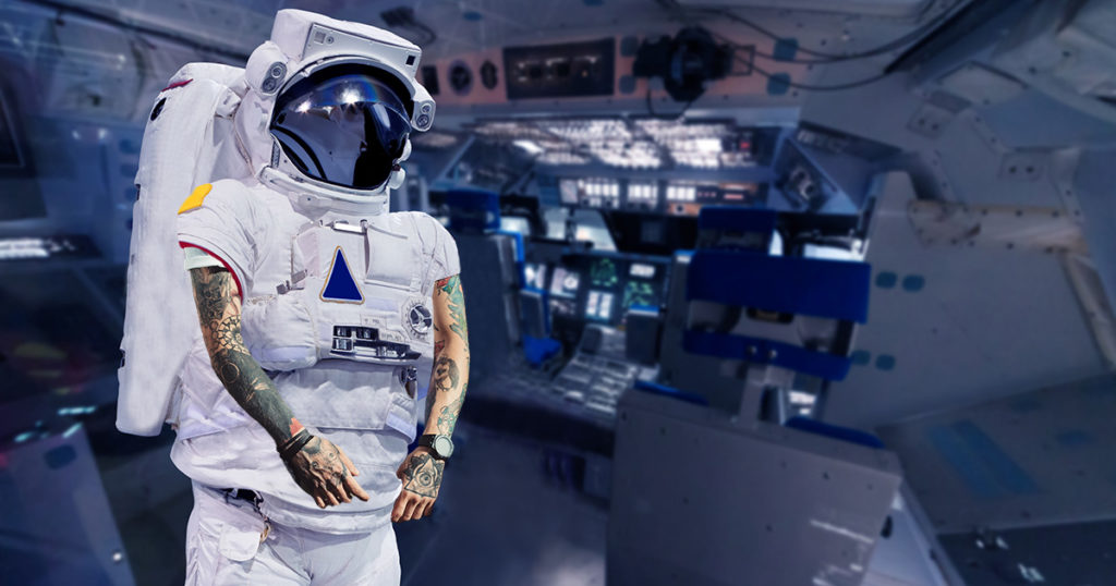 nasa, astronaut, punk
