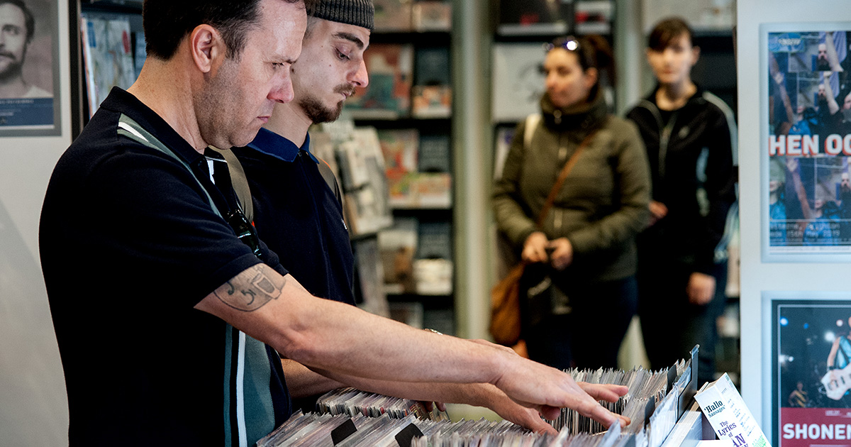 record, store, manager, spotify