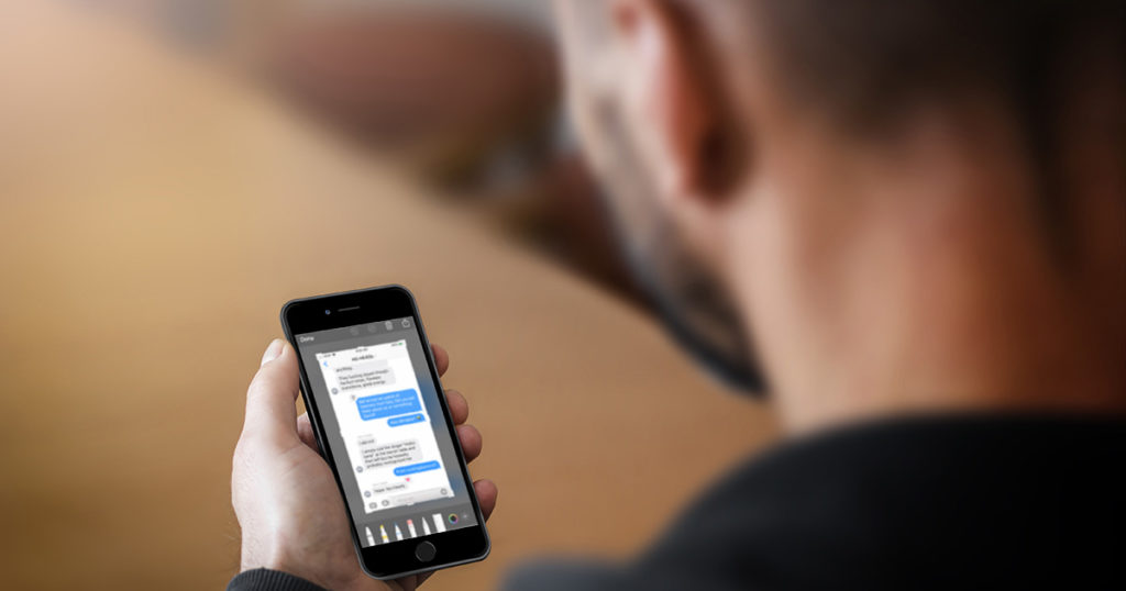 iPhone, storage, screenshot