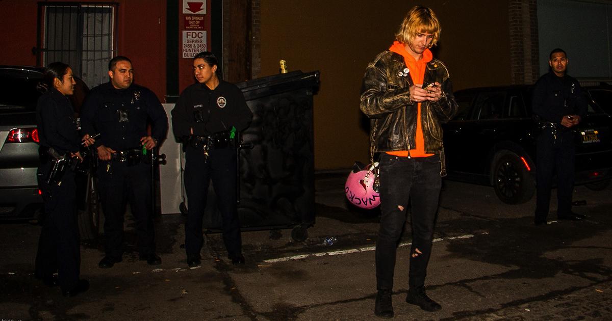 punk, 30s, cops