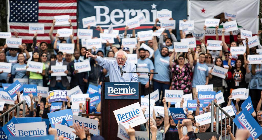 bernie sanders, win, primary, president, democrat