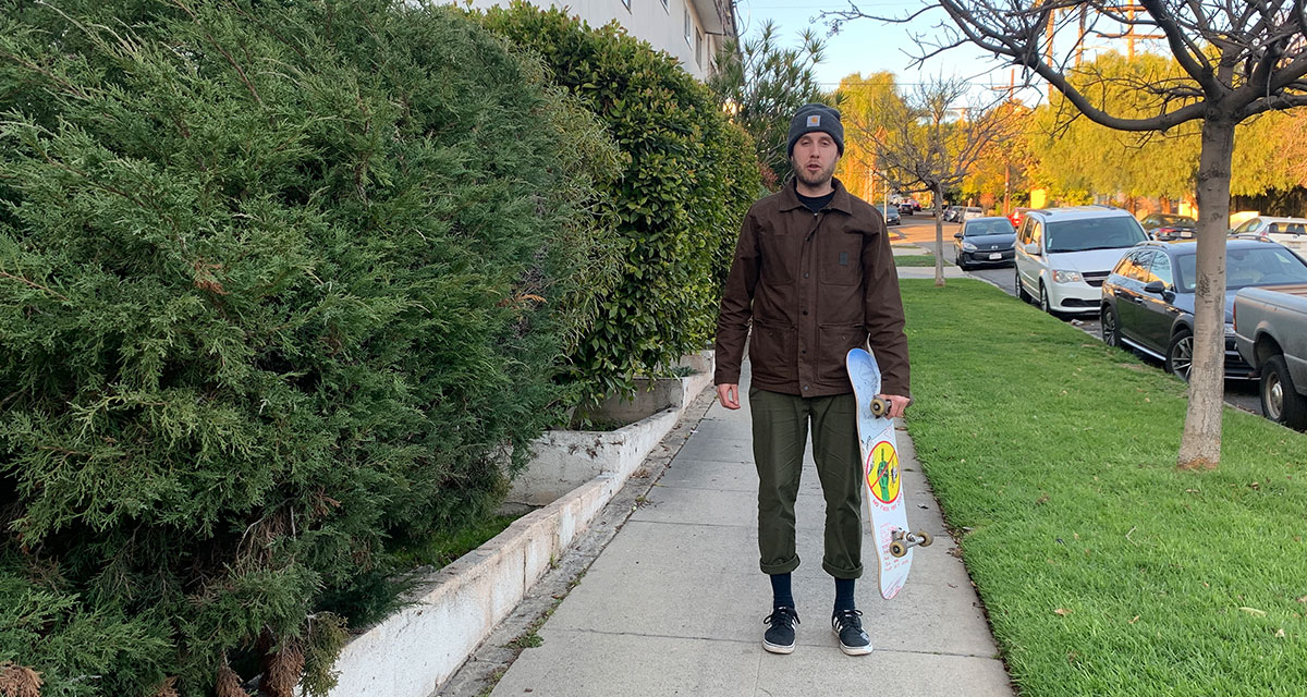 mall grab, cop, skateboarding