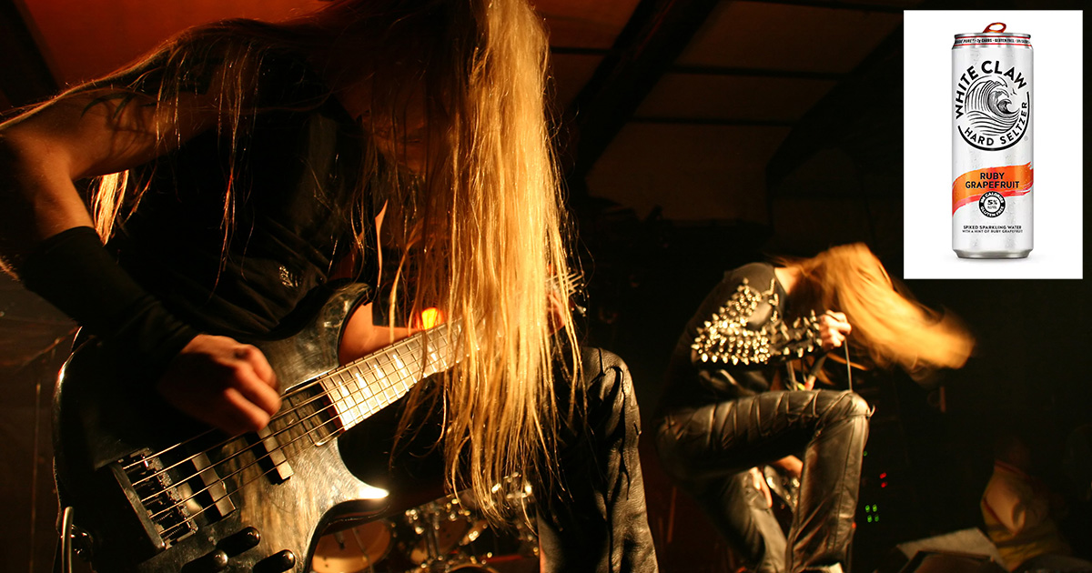 White Claw® Files Lawsuit Against Similarly Named Racist Black Metal Band