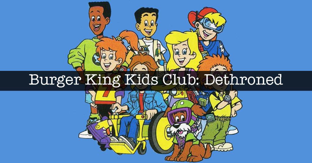 burger king, kids club, mcmillions
