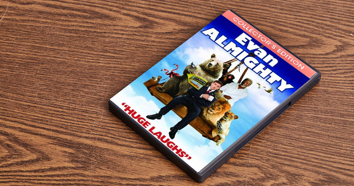 evan almighty, movie, bad, bad movie, annoying, over priced