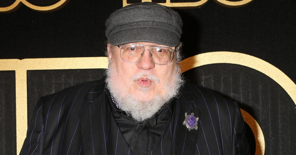 george r.r. martin, beard, old, white, white guy, glasses