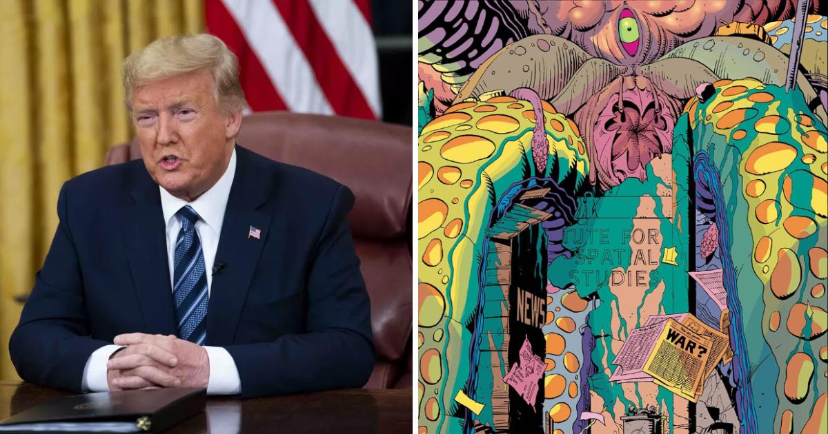 Donald Trump Unleashes Giant Squids on Major U.S. Cities to Unite Americans Against Coronavirus