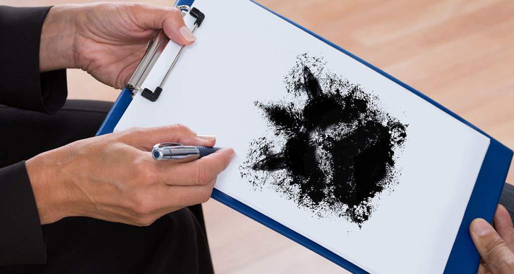 black metal, rorschach, ink, depression