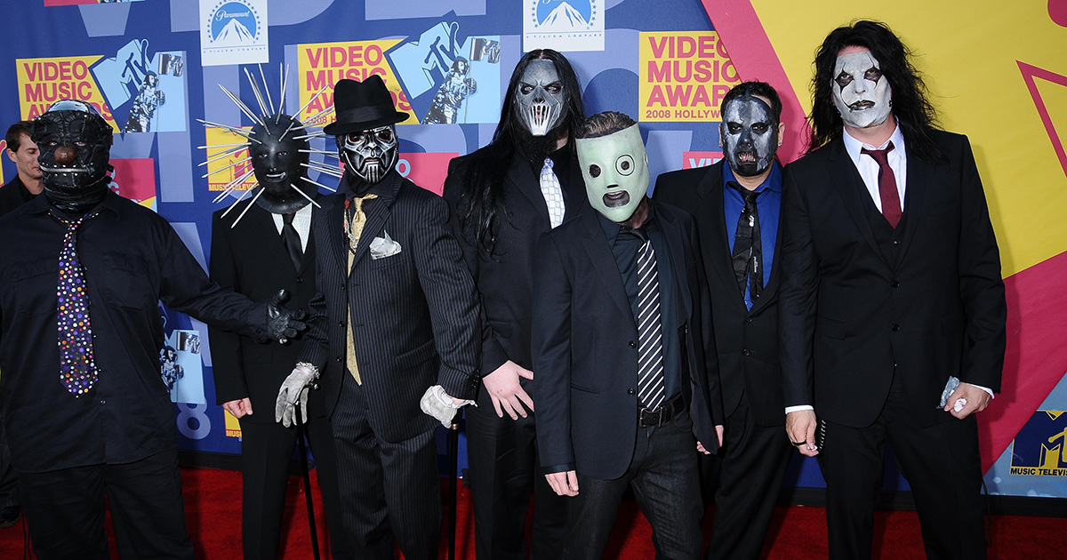 slipknot, masks, donate