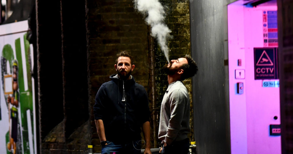 smoking, friends, fight