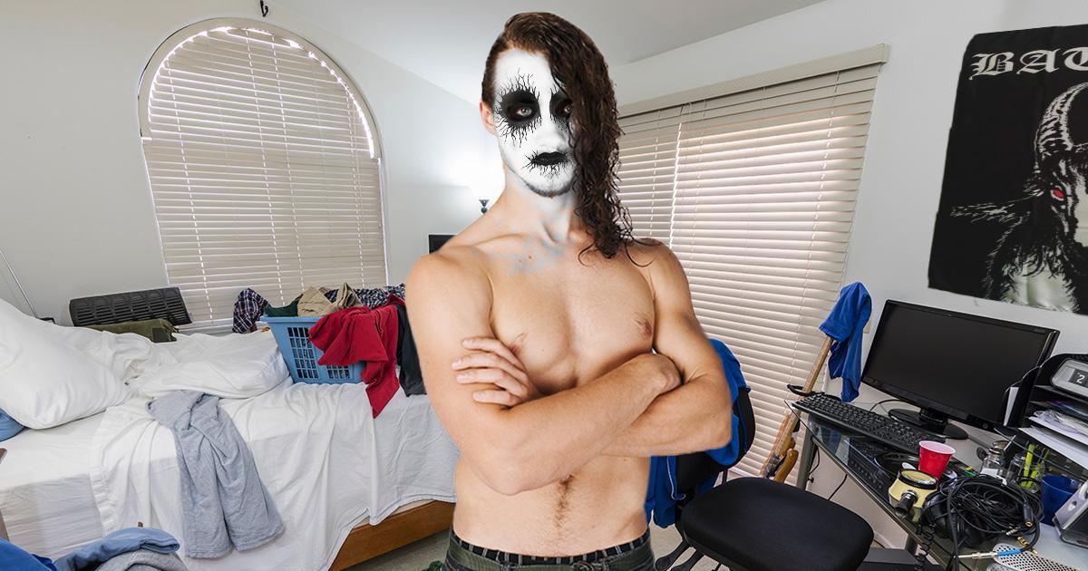 black metal, corpse paint