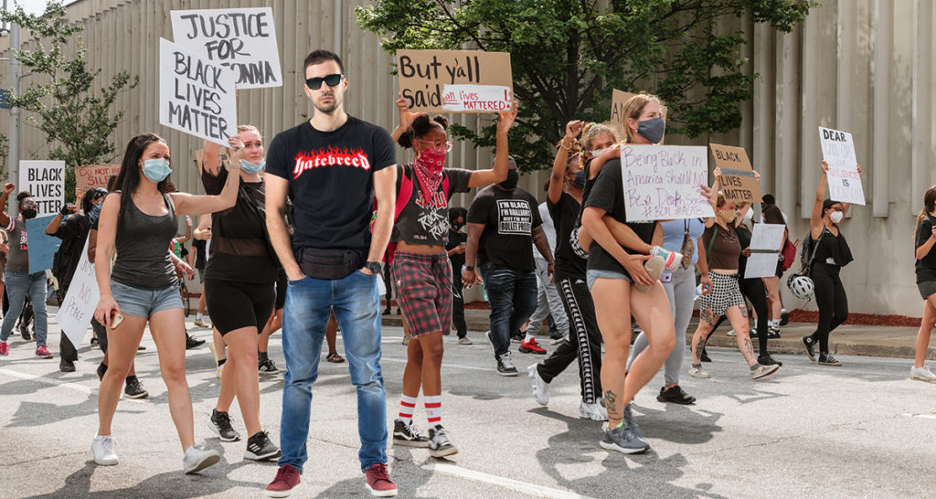 hatebreed, undercover cop, protests