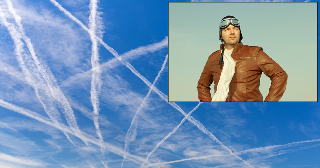 chemtrails, writing, plane, sky, clouds