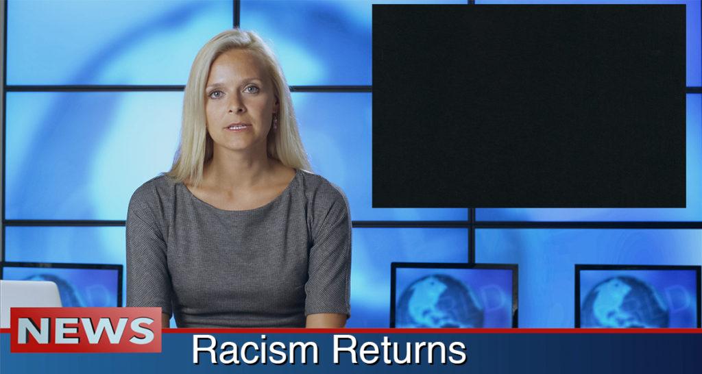 racism, returns, blackout