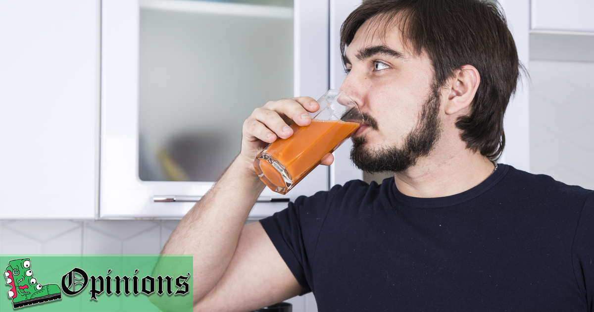 Opinion: I Drink Carrot Juice Now