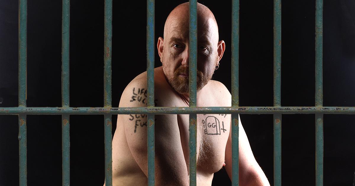 GG Allin, impersonator, jail, tattoo, poop