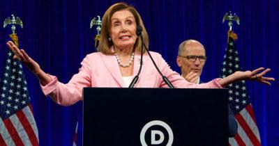 nancy pelosi, democrat, amazon, taxes, money