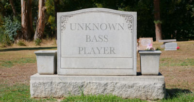 unknown, bass, player, dead, lost, guitar, grave