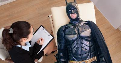 batman, therapy, self help, mental health, vigilante, hero